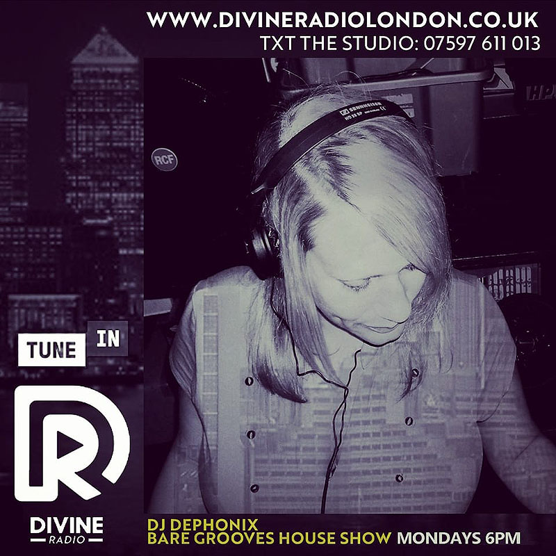 DEPHONIX - FUTURE JUNGLE, BREAKS & HOUSE - London Female DJ